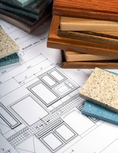 Kitchen plans and materials