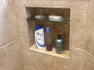 Built-in Soap Niche