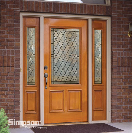 Cage design buildsimpson door company selecting stylish for Exterior door companies