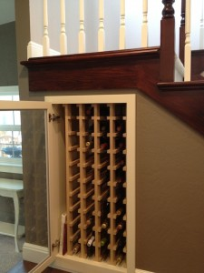 San Jose Remodel Wine Rack