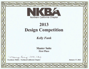NBKA (National Bath and Kitchen Association) Award Certificate