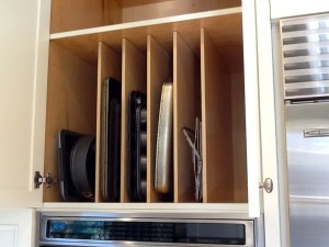 Kitchen Cabinet Tray Divider