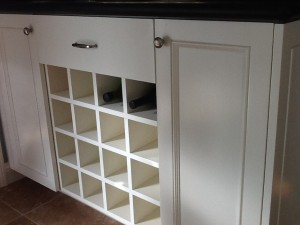 Wine Rack w/ Display Area