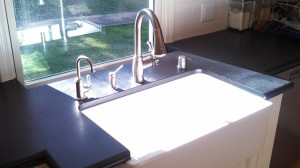 Farmhouse Sink Closeup