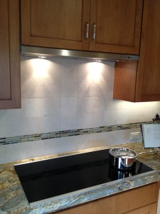Los Gatos Kitchen Remodel - Bosch Induction Cooktop