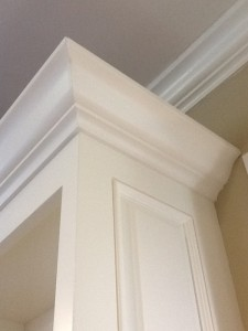 Entertainment Center Crown Molding