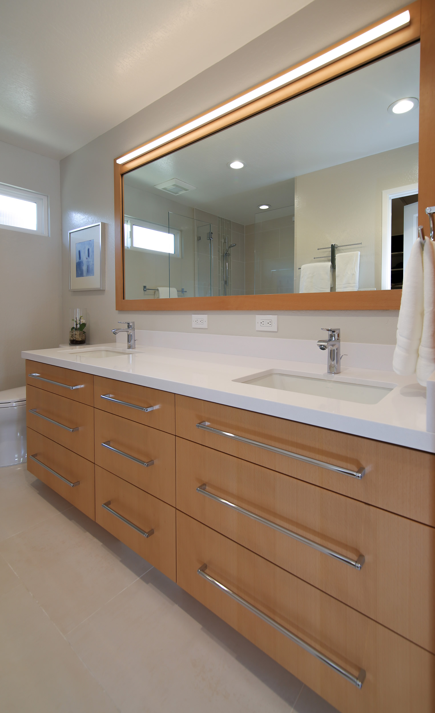 Kitchen bathroom and home remodeling gallery cage for Master bathroom countertops