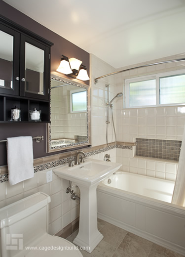 Hall bathroom remodel