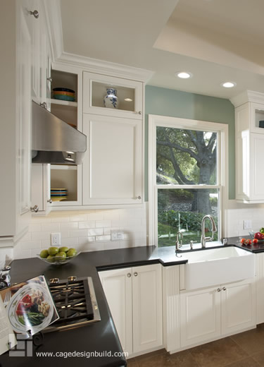 Saratoga Kitchen Remodel with Granite Countertops