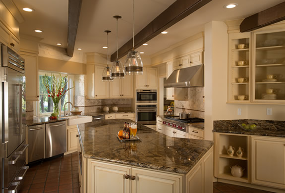 Saratoga Kitchen Remodel in Historical Adobe Style